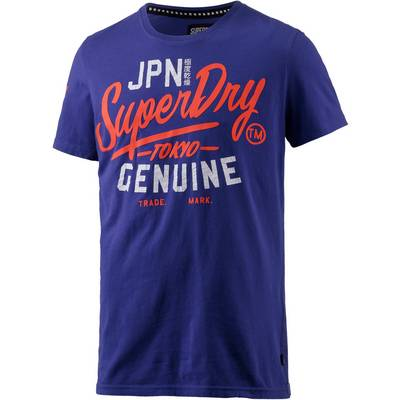 Superdry Printshirt Herren royal