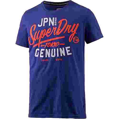 Superdry Printshirt Herren royal