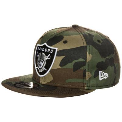 New Era 9FIFTY League Essential Oakland Raiders Cap grün / braun