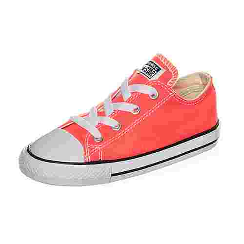 CONVERSE Chuck Taylor All Star Fresh Colors Sneaker Kinder neonorange / weiß
