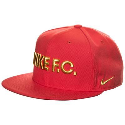 Nike F.C. True Cap rot / gold