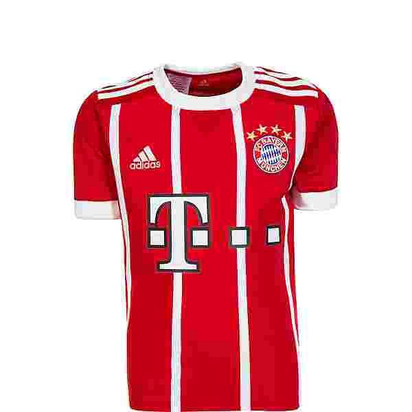 adidas FC Bayern 17/18 Heim Trikot Kinder FCB TRUE RED
