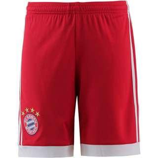 adidas FC Bayern 17/18 Heim Fußballshorts Kinder FCB TRUE RED