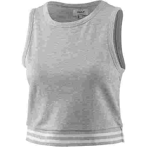 Only Tanktop Damen light grey melange