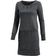 Ragwear Alexa B Jerseykleid Damen black melange