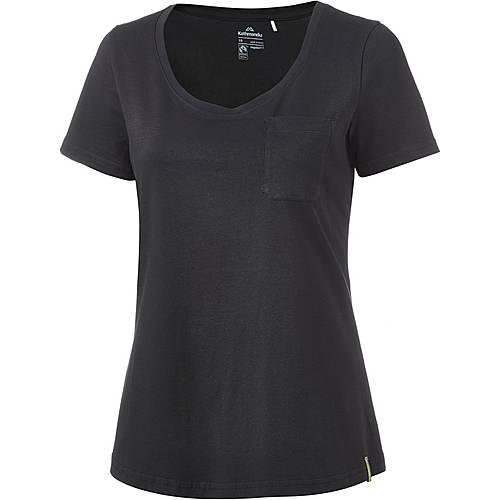 Kathmandu Fairtrade T-Shirt Damen black