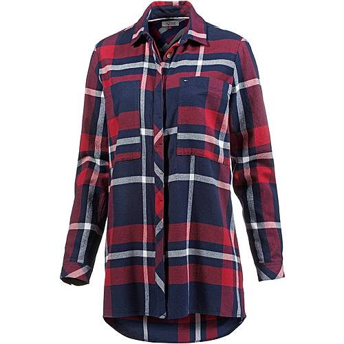 Tommy Hilfiger Langarmhemd Damen chili pepper/multi big check