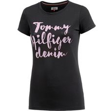 Tommy Hilfiger T-Shirt Damen black beauty