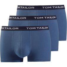 TOM TAILOR Boxer Herren blau-mittel-uni
