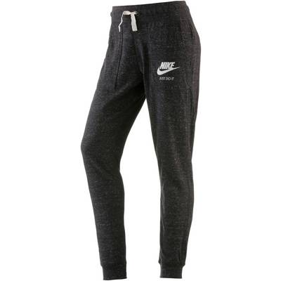 Nike Gym Vintage Sweathose Damen schwarz-melange