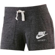 Nike Gym Vintage Shorts Damen schwarz-melange