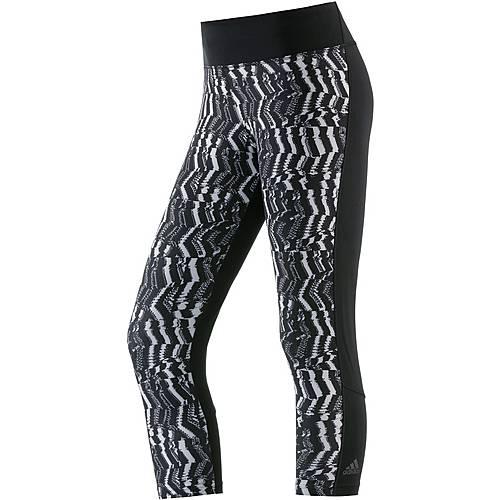 adidas D2M Tights Damen schwarz/grau
