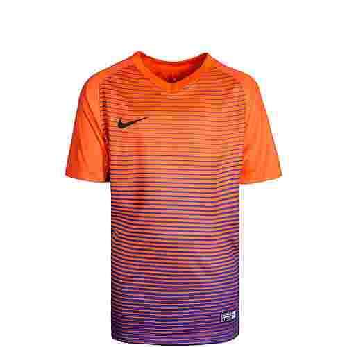 Nike Dry Precision Funktionsshirt Kinder orange / lila