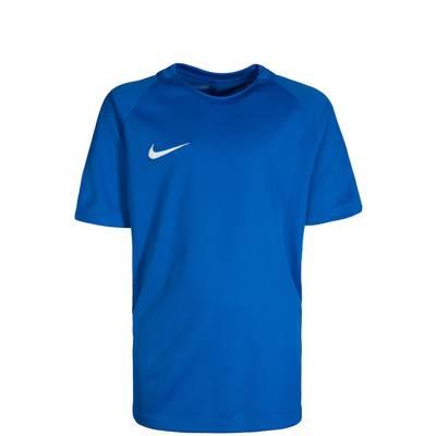 Nike Dry Squad 17 Funktionsshirt Kinder blau / weiß