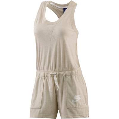 Nike Gym Vintage Jumpsuit Damen beige/melange