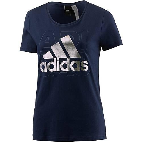 adidas Foil T-Shirt Damen navy