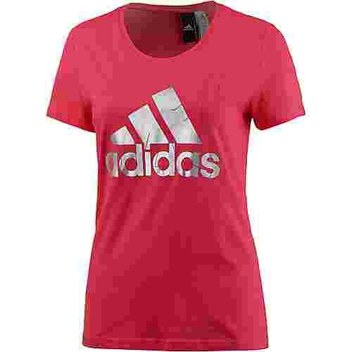 adidas Foil T-Shirt Damen pink