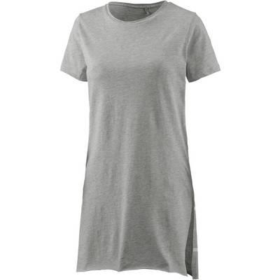 Only Longshirt Damen light grey melange