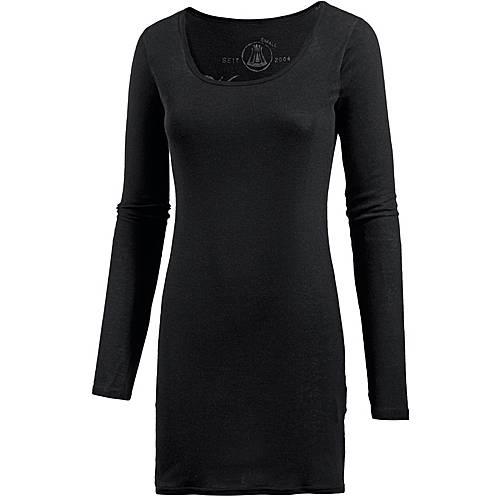 Herrlicher Zena Micro Rib Jerseykleid Damen black