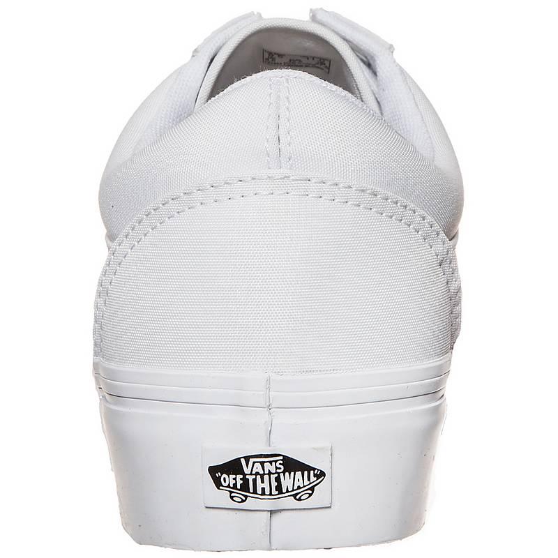 plateau sneaker weiß vans