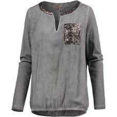 Mogul Langarmshirt Damen dark grey