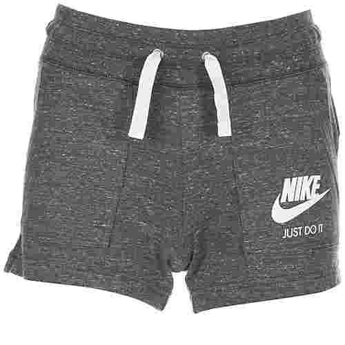 Nike Gym Vintage Shorts Damen dunkelgrau / weiß