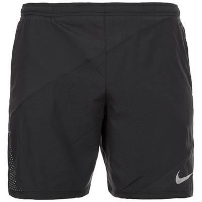 Nike Flex 2-in-1 Laufshorts Herren schwarz / silber