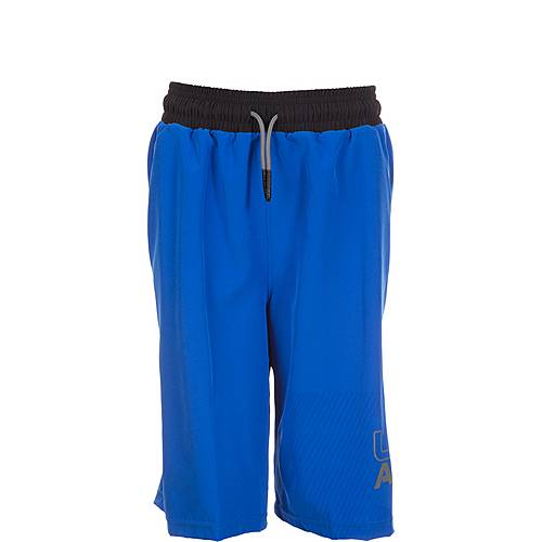 Under Armour HeatGear Activate Shorts Kinder blau / schwarz