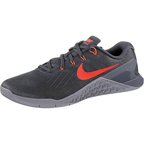 Nike Metcon 3 Fitnessschuhe Herren grau/orange