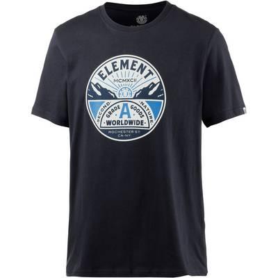 Element GRADE A SS Printshirt Herren blau
