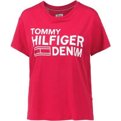 Tommy Hilfiger T-Shirt Damen rot