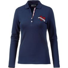 Tommy Hilfiger Pololangarmshirt Damen medieval Blue