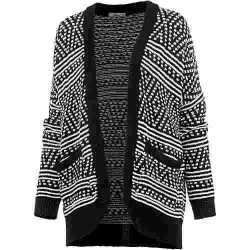 e7f9b80931 LTB Strickjacke Damen black white mix im Online Shop von SportScheck ...