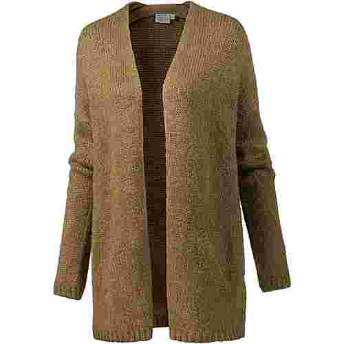 TIMEZONE Strickjacke Damen brass brown melange