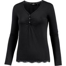 Jockey Langarmshirt Damen schwarz
