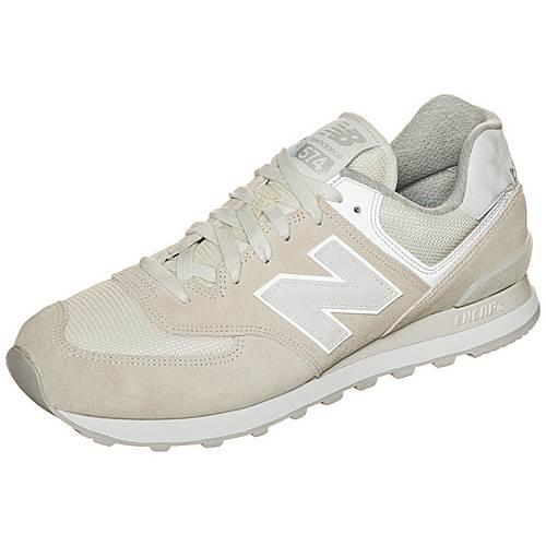NEW BALANCE ML574-SEF-D Sneaker beige / weiß