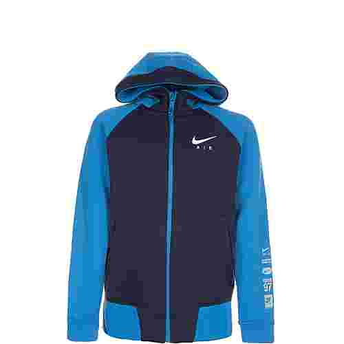 Nike Air Kapuzenjacke Kinder dunkelblau / blau