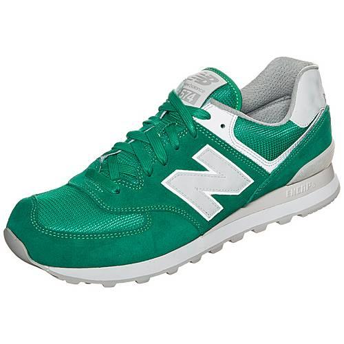 NEW BALANCE ML574-SEH-D Sneaker grün / weiß