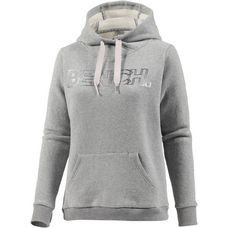 Bench Hoodie Damen winter grey marl