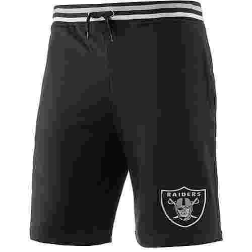 Majestic Athletic Oakland Raiders Shorts Herren schwarz