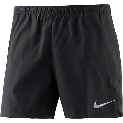 Nike FLEX CHLLGR Laufshorts Herren black/black/(reflective silv)