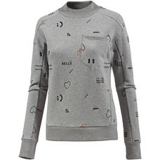 Bench Sweatshirt Damen winter grey marl