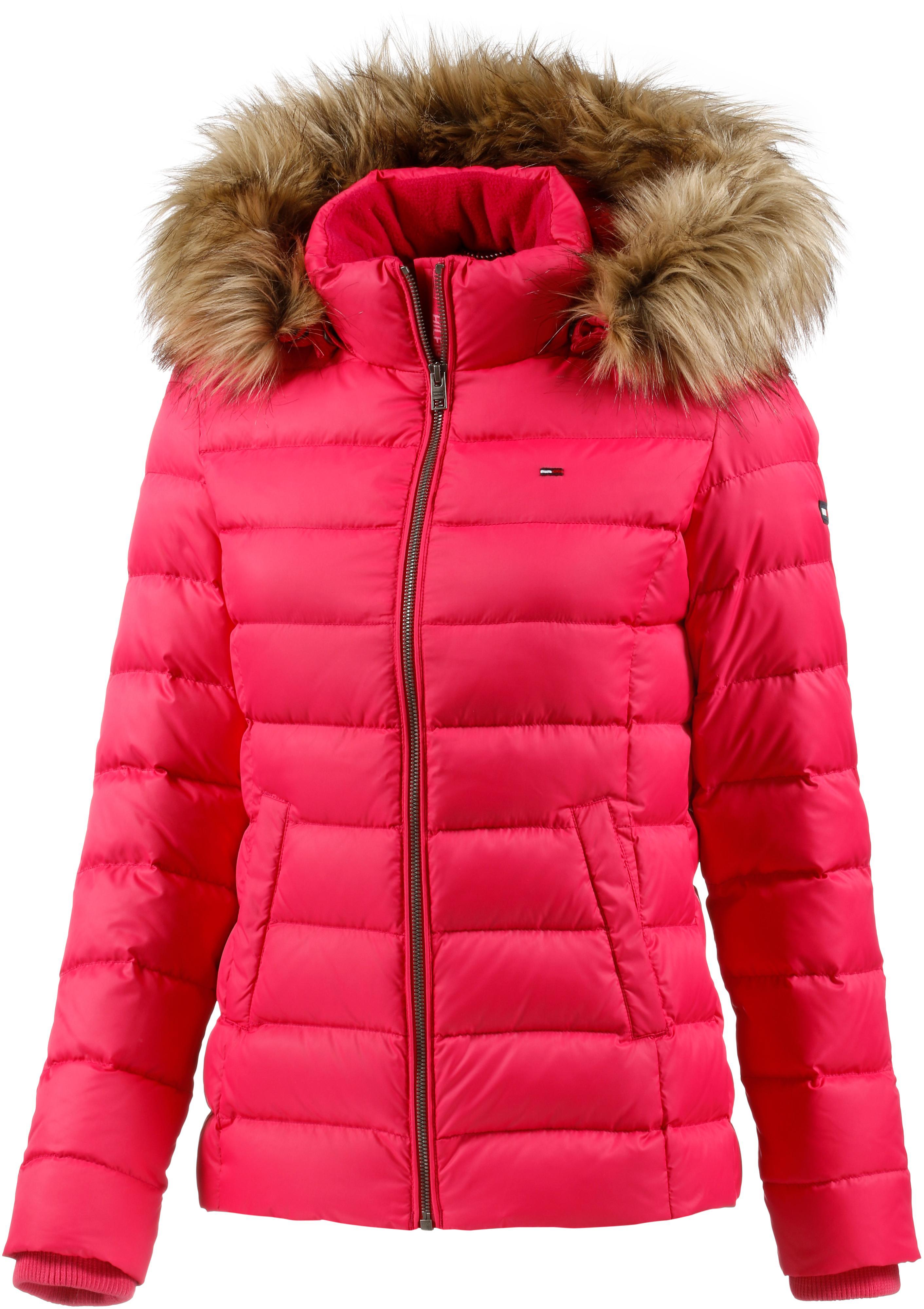 langlebig im einsatz suche nach original große Auswahl Tommy Hilfiger Daunenjacke Damen pink im Online Shop von SportScheck kaufen