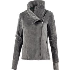 Bench Fleecejacke Damen dark grey
