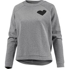 Bench Sweatshirt Damen winter grey marl