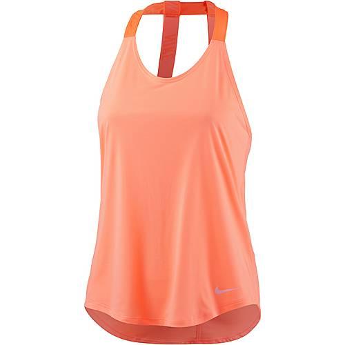 Nike Breathe Elastika Tanktop Damen lachs