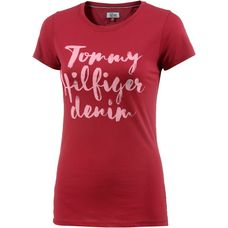 Tommy Hilfiger T-Shirt Damen chili pepper