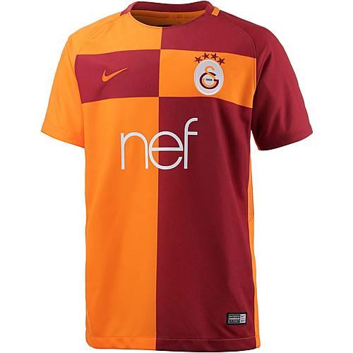 Nike Galatasaray Istanbul 17/18 Heim Fußballtrikot Kinder orange/rot