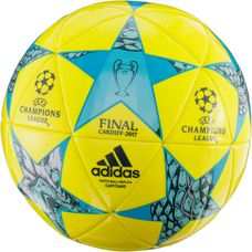 adidas CDF Finale CAP Fußball bright-yellow-clear-aqua-energy-blue