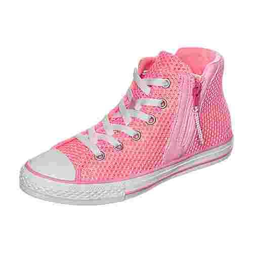 CONVERSE Chuck Taylor All Star Sport Zip Sneaker Kinder neonpink / weiß